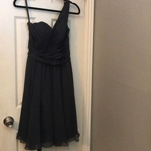 Dresses & Skirts - Grey Bridesmaids or Cocktail Dress Kennedy Blue